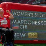 Francisca Mardones gana el oro en lanzamiento de bala, logrando récord mundial