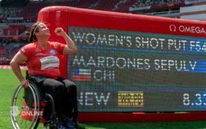 Mardones gana medalla de oro en paraolímpicos Tokio 2020
