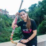 Catalina Flores, Deportista destacada de Hockey Patín.