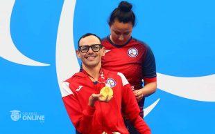 Alberto Abarza, campeón paraolímpico en Tokio 2020.